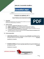ÁLGEBRA MATRICIAL Y GEOMETRÍA ANALÍTICA PRODUCTO ACADÉMICO N°3