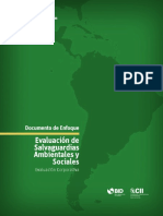 Documento de Enfoque Evaluación de Salvaguardias Ambientales y Sociales (1)