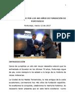 2017.03.12 Sesión Solemne 482 Años de Fundación de Portoviejo