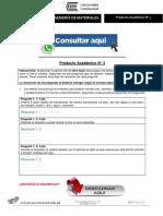 INGENIERÍA DE MATERIALES PRODUCTO ACADÉMICO N°3