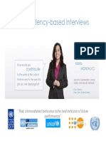 UN Competency Based Interviews ENGLISH With Exercises Japan October 2013