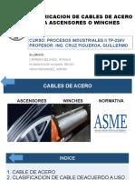 Fabricacion de Cables de Aceros f