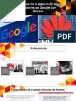 Restricciones a Huawei
