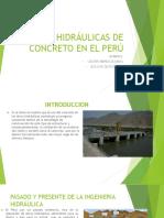 Obras Hidráulicas de Concreto en El Perú