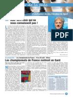 Le Cahier de la Fédé le Nº 49 - Fédération Française des Échecs
