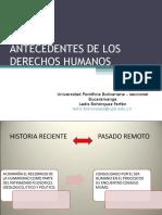 1. Historia de Los Derechos Humanos 102017