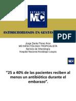 Ppt Antimicrobianosengestantesyninos Pr