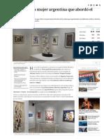Yente, la primera mujer argentina que abordó el arte abstracto