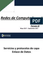 05.- [Redes de Computadoras I] - P50 - [Capitulo # 5] - Servicios y Protocolos de Capa Enlace de Datos