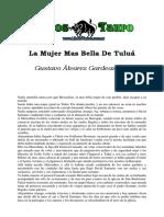 Alvarez Gardeazabal, Gustavo - La Mujer Mas Bella de Tulua