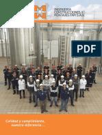 Brochure Ingenieria, Construcciones y Montajes Fam s.a.s -2016
