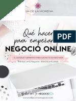 Checklist Que Hacer Para Empezar Tu Negocio BrillaConTuNegocio EvadelaMorena