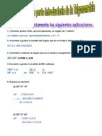 UNidad I Ejercicio Sobre Medición de Ángulos Y RAZONES TRIGONOMéTRICAS (1)