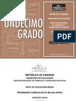 Programas Educacion Media Academica Bellas Artes 11 2014