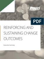 Reinforcing Sustaining Executive Summary