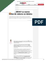¿Qué Es BIVA_ La Nueva Bolsa de Valores en México _ Alto Nivel