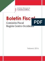 Boletn COFIRE Febrero 2016