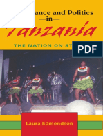 Laura Edmondson - Performance and Politics in Tanzania_ the Nation on Stage (African Expressive Cultures)-Indiana University Press (2007)