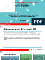 NOM-036-SSA2-2012, Prevención y Control de Enfermedades