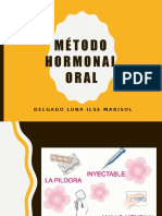 Método Hormonal Oral