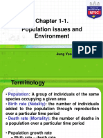 Chapter 1-1 Population Issues