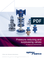 Pressure Reducing and Surplussing Valves for Steam and Industrial Fluids-SB-GCH-29-En