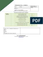 PREGUNTAS PSU 1 4°A - Ecuación de primer grado