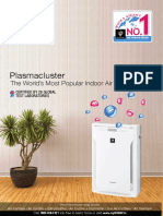 Sharp Air Purifier Brochure 12 Page Sept 2017