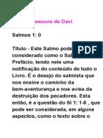 Salmos Tesouros de Davi 1.0