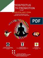 Prospectus Yoga Course