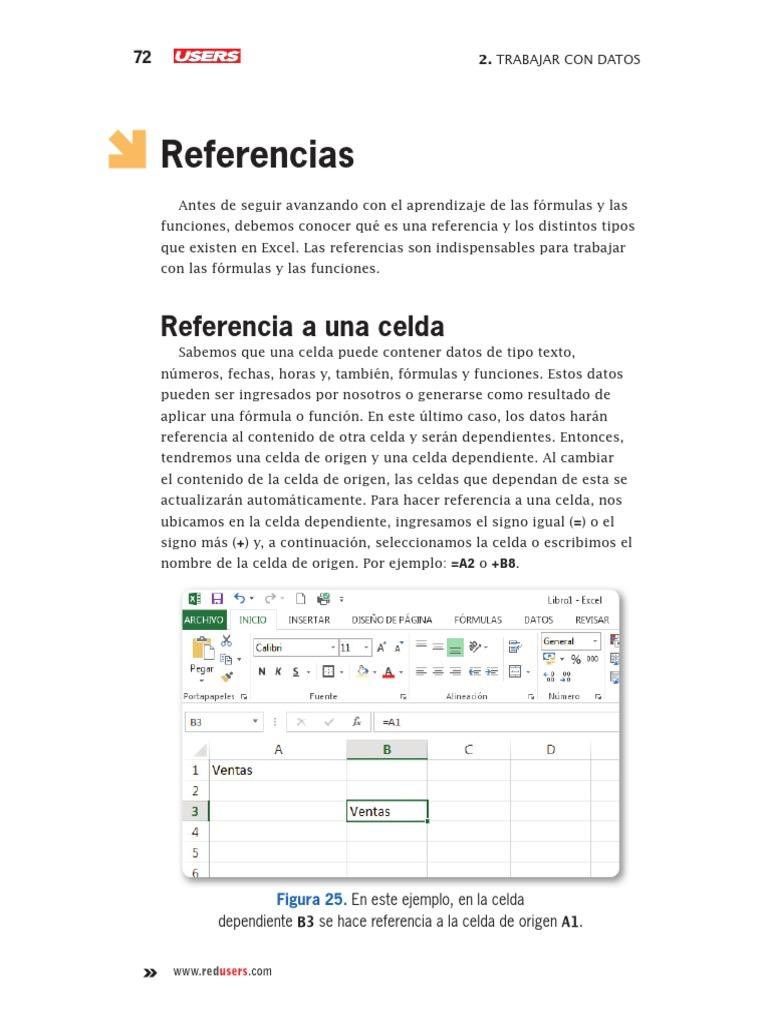 Referencia de Celdas   Microsoft Excel   Point and Click