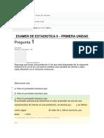 Examenes Estadisticas II Unidades 1-2-3