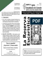 46. La Reserva Eucarística