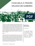 Revista No 4 Familia Escuela a Travs Del Dialogo de Saberes