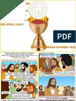 HOJITA EVANGELIO NIÑOS EL SANTÍSIMO CUERPO Y SANGRE DE CRISTO C 19 SERIE