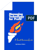 Book Managing Technology for Profit