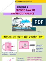 thermodynamic second law