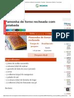 Pamonha de Forno Recheada Com Goiabada - Receitas - Gastronomia _ Bonde. O Seu Portal
