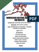 Auditoria Cajamarca f