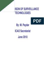 ICao APAC for Comparison Surveillance Technologies