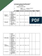 Trainee Progress Sheet