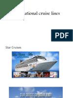 International Cruise Lines