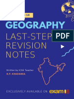 Exam18 ICSE Class 10 Geography Last Minute Revision Notes 2019 Digital Download 2 5d0da8e867e3c e