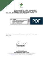 Certificado en Altura Eugenio Fernando Miguel Gabriel