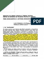 Menezes (1978) Teses Brasillanistas e Antlteses Brasileiras