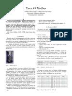 Modbus ASCII y Modbus TCP/IP