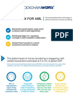Blockchain for AML