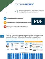 Blockchain for Digital Transformation in Banking