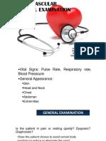 Cardiac Physical Exam