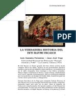 La Verdadera Historia Del Inti Raymi Incaico